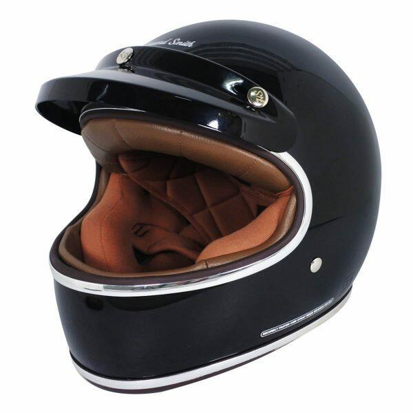 Cargloss-Cafe Racer-Deep Black-Full Face